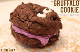 Halloween Cake Mix Cookies by Alohamora Open A Book The Gruffalo Cookie From A Cake Mix