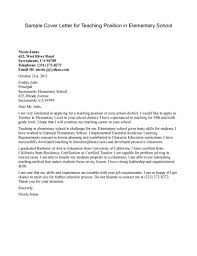 What Is A Cover Letters Cover Letter For Teaching Job Application Gallery Cover Letter Ideas