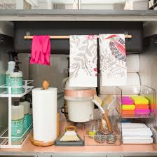 a dozen genius ways to organize under the sink sinks organizing storage ideas 12 smart ways to organize under your sink