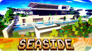 Home Design Pc Game Download Minecraft Modern Seaside House Design With Interior Cinematic