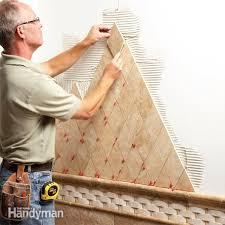 Bathroom Tile Installation by Tile Installation The Family Handyman