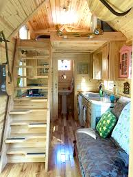 Tiny House Interior Images by Nicki U0027s Colorful Victorian Tiny House After One Year