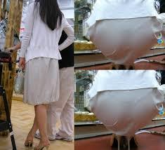 着物のパンティーライン|街撮り盗撮 女の脚やパンティーラインを激写してみた 35
