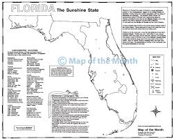 Large Map Of Florida by Florida Map Maps For The Classroom