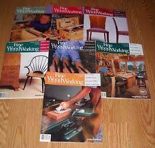 fine woodworking magazine ebay