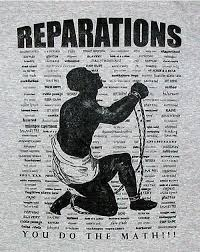 of black reparations seems