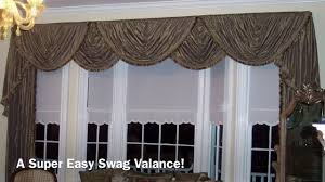 a super easy swag valance anyone can make youtube