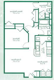 100 2 bedroom plans two bedroom house floor plans beautiful