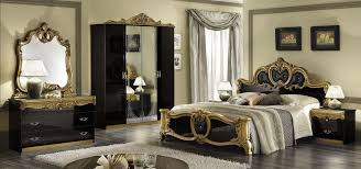 gold and black bedroom decor black elegant bedroom design idea