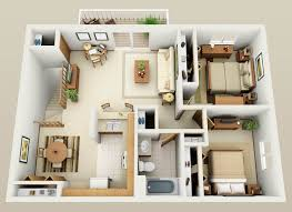 Floor Plan 2 Bedroom Apartment Small Houses Plan Pesquisa Google Future Pinterest Small
