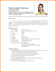 resume examples for chefs resume sample in the philippines free resume example and writing resume sample format philippines 0 jpg
