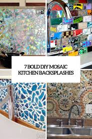 diy kitchen backsplashes archives shelterness