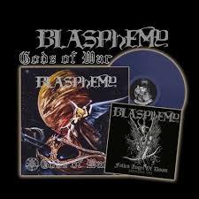 Gods Of War by Blasphemy Gods Of War Blood Upon The Altar Hardbook Lp 10ep