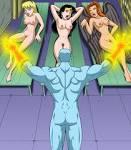 Xbooru – 3 girls breasts hawkgirl justice hentai bonus nude