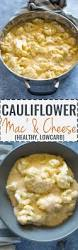 low carb cauliflower u0027mac u0027 and cheese gimme delicious