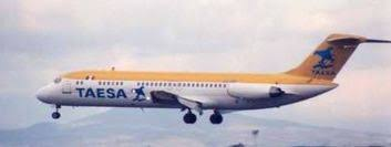 TAESA Flight 725