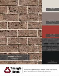 blog triangle brick