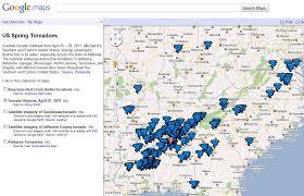 Google Maps Illinois by Google Releases Alabama Tornado Destruction Images U0026 Maps Of Tornadoes