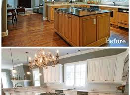 Kitchen Cabinets Nashville Tn by Before And After Painting Kitchen Cabinets Ellajanegoeppinger Com