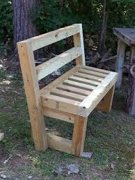 Build Wood Garden Bench by 4x4 Garden Bench Benches Pinterest Pallets Pallet Projects