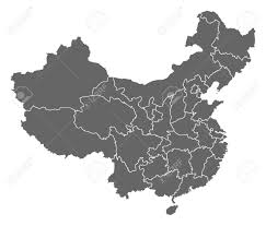 Map Of China Provinces Political Map Of China With The Several Provinces Royalty Free