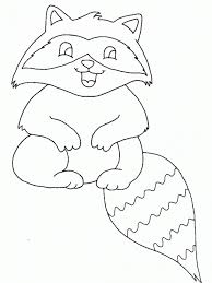 Coloring Ideas by Raccoon Coloring Pages Fablesfromthefriends Com