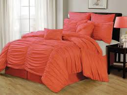 Red King Comforter Sets Bedding Set Coral Colored Bedding Sets Posirippler Grey Bedding