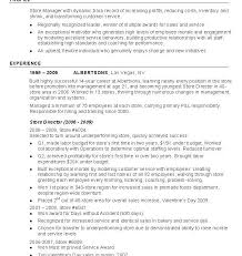Sample Resume For Retail Manager by Retail Manager Resume Examples Resume Retail Example 15 Best All