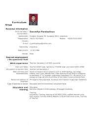 Free Resume Builder Yahoo Standard Resume Template Resume For Your Job Application