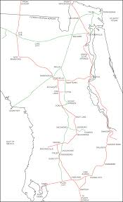 Map Of Lakeland Florida by Tampa Bay Trains When Trains First Came To Central Florida