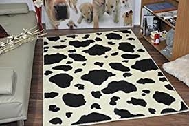 Cow Print Rugs Wildlife Safari Animal Print Rug Carpet 16 Different Colours
