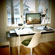 Modern White Office Desks Furniture Exquisite Picture Of Modern White Home Office