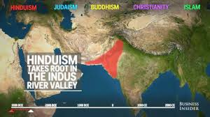 Religions Of The World Map by Watch How The 5 Major Religions Spread Across The World