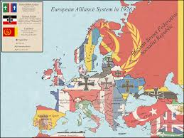 Europe After Ww1 Map by European Alliance System In 1926 Following A German Won Ww1 And
