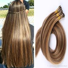 Itip Hair Extensions Wholesale by 1g S 100g Human Hair Ash Brown Platinum Blonde Straight Custom