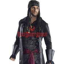 Halloween Costume Leather Jacket Mens Caribbean Pirate Costume Rc 810285 Dark Knight Armoury