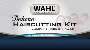 wahl deluxe haircutting kit video gallery