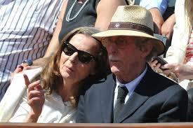 Jean Rochefort et son épouse Françoise Vidal - 4 - jean-rochefort-roland-garros