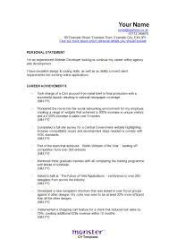Best Software Engineer Resume by Best Resume For Experienced Software Engineer Free Resume