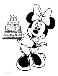 100 birthday coloring pages for kids number 6 and birthday