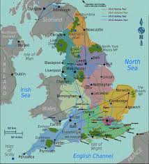 Map Of Ireland And England Basil Rathbone Master Of Stage And Screen Map Of England