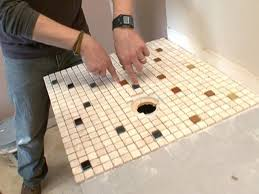 Do It Yourself Bathroom Ideas Colors How To Create A Mosaic Glass Tile Countertop How Tos Diy