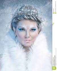 ice queen ice queen beautiful woman in winter professional
