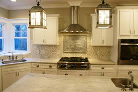 Cement Tile And Tin Ceiling Tile Backsplash In My Gray And White - White tin backsplash
