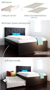 Full Size Trundle Bed Frame Best 20 Twin Bed With Trundle Ideas On Pinterest Farmhouse Bed