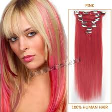 Grey Human Hair Extensions by 16 34 Inch Clip In Hair Extensions Cheap Clip In Human Hair