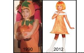 pattern witch costume girls u0027 halloween costumes then and now the evolution from silly