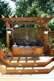 Deck Pergola Ideas by Best 25 Tub Pergola Ideas Only On Pinterest Outdoor Pergola