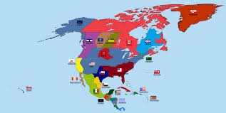 Centro America Map by Active Separatist Movements In North And Central America Vivid Maps