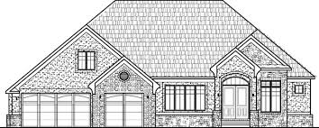 2000 Sq Ft Bungalow Floor Plans House Drawing Design Rustic Home Plans Design One Floor Bungalow